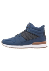 Your Turn Hightop Trainers Navy Blue