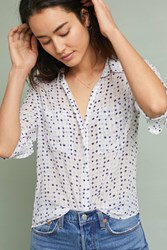 Cloth And Stone Tavira Buttondown Neutral Motif