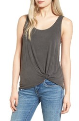 June And Hudson Women's Knot Front Tank