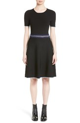 Opening Ceremony Women's Crochet Trim Fit And Flare Dress
