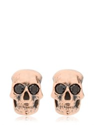 Manuel Bozzi Luxury Skull Earrings