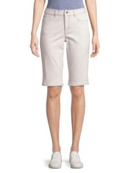 Jones New York The Lexington Bermuda Shorts Soft White