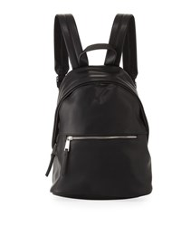 French Connection Jace Faux Leather Backpack Black