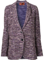 Missoni Loose Fit Blazer