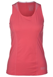 Gore Running Wear Magnitude Sports Shirt Coral Red