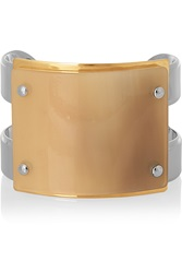 Marni Silver And Gold Plated Horn Cuff