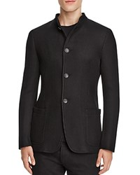 Armani Collezioni Regular Fit Sport Coat Black