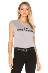A Fine Line Abby 'I'm Responsible' Tank Gray