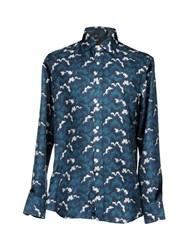 Tod's Shirts Dark Blue