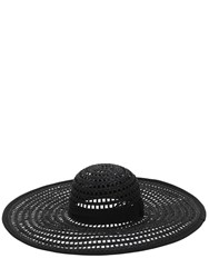 Eugenia Kim Sunny Hat W Grosgrain Band Black