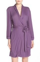 Splendid Women's Thermal Jersey Robe Concord
