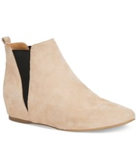 Calvin Klein Women's Magica Pointed Toe Wedge Ankle Booties Women's Shoes