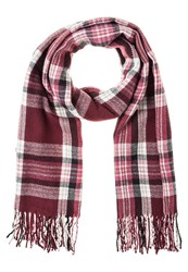 Dorothy Perkins Jewel Scarf Red Dark Red