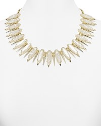 Kendra Scott Gwendolyn Necklace 18 Crushed Ivory Mother Of Pearl