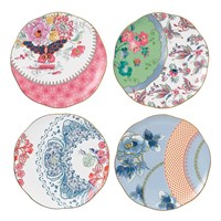 Wedgwood Butterfly Bloom Plate Set Of 4
