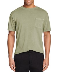 Alexander Wang T By Pocket Tee Army Green