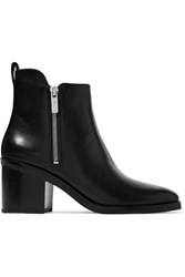 3.1 Phillip Lim Alexa Leather Ankle Boots Black