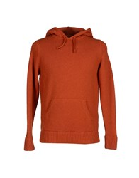 Fifty Four Knitwear Jumpers Men Rust