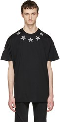 Givenchy Black Tattoo T Shirt