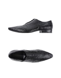 Gianni Barbato Footwear Lace Up Shoes Men Black