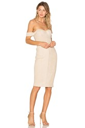 Misha Collection Jackie Dress Beige