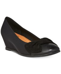 Bare Traps Lexia Wedge Pumps Women's Shoes Black