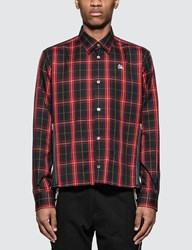 Undercover Red Checked Bloody Geekers Shirt