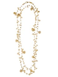 Rosantica By Michela Panero Spiaggia Seashell Charm Long Necklace Ivory