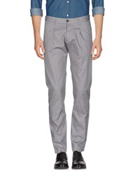 Officina 36 Casual Pants Dove Grey