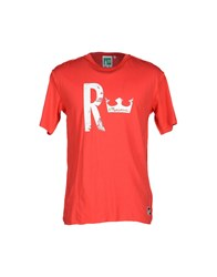 The Royal Pine Club Topwear T Shirts Men Red