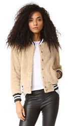 Mother Letterman Snap Jacket More Than A Feeling