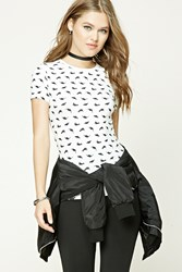 Forever 21 Dinosaur Print Graphic Tee