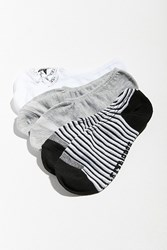 Converse No Show Liner Sock 3 Pack Assorted