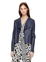 Kate Spade Draped Leather Jacket