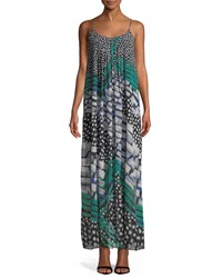Nic Zoe Blooms Me Away Maxi Dress Petite Multi