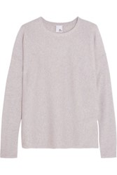 Iris And Ink Knotted Cashmere Sweater Gray
