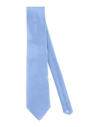 Alessandro Dell'acqua Accessories Ties Men Sky Blue
