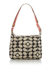 Orla Kiely Sixties Stem Large Crossbody Neutral