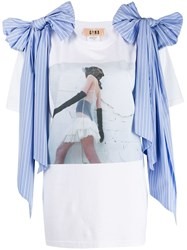 Gina Gorgeous T Shirt White