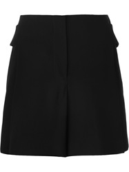 Alexander Wang Back Buckle Shorts Black