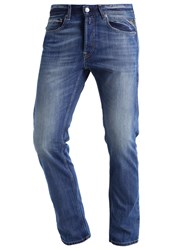 Replay Grover Straight Leg Jeans Blue Denim