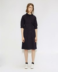 Mhl By Margaret Howell Duster Dress Indigo