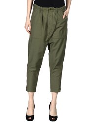 Nlst Casual Pants Military Green