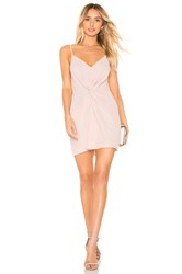Amanda Uprichard Ellie Slip Dress Blush