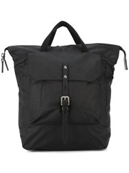 630efeeb59 Ally Capellino Buckle Front Backpack Black