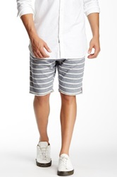 Howe Flipside Wide Stripe Reversible Short Multi