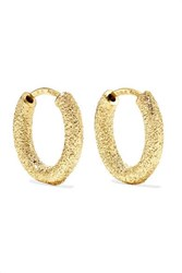 Carolina Bucci 18 Karat Gold Hoop Earrings