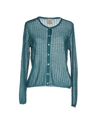 Attic And Barn Attic And Barn Knitwear Cardigans Women Deep Jade