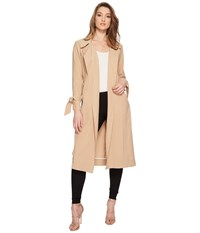 1.State Belted Trench Coat Classic Camel Women's Coat Beige