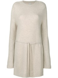 Le Kasha Havane Knitted Top Nude And Neutrals